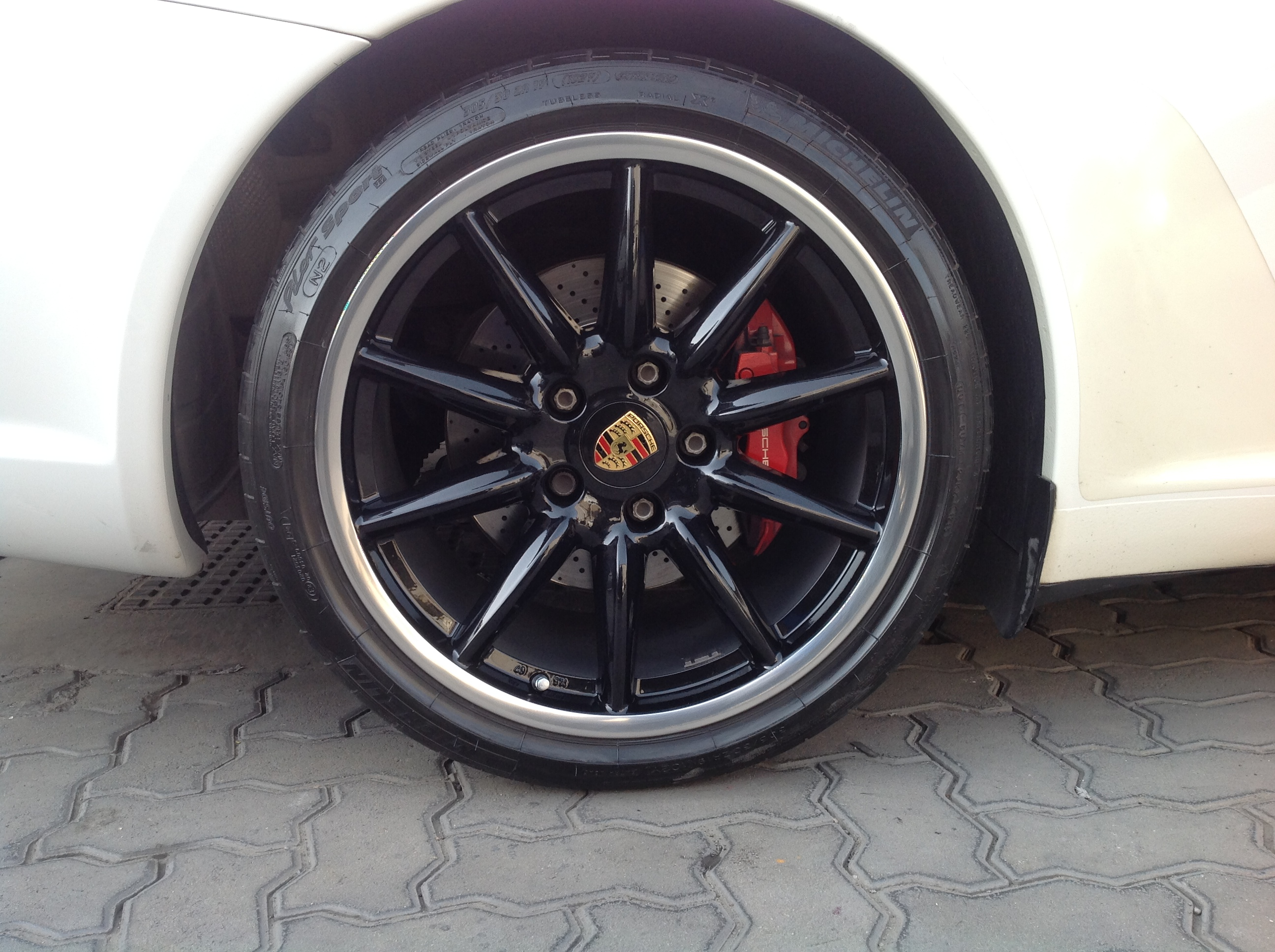 911 carrera black after