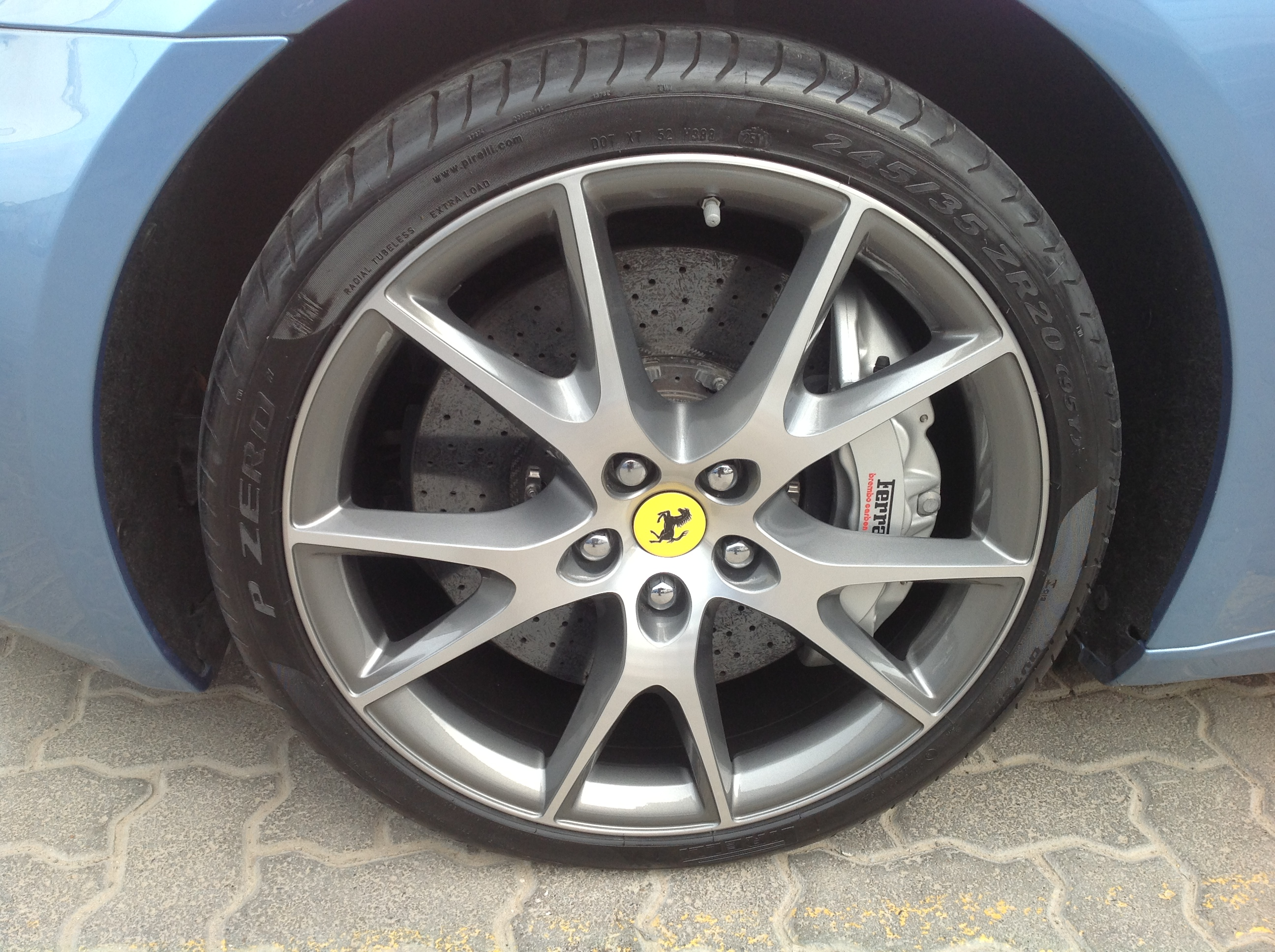 Ferrari california after