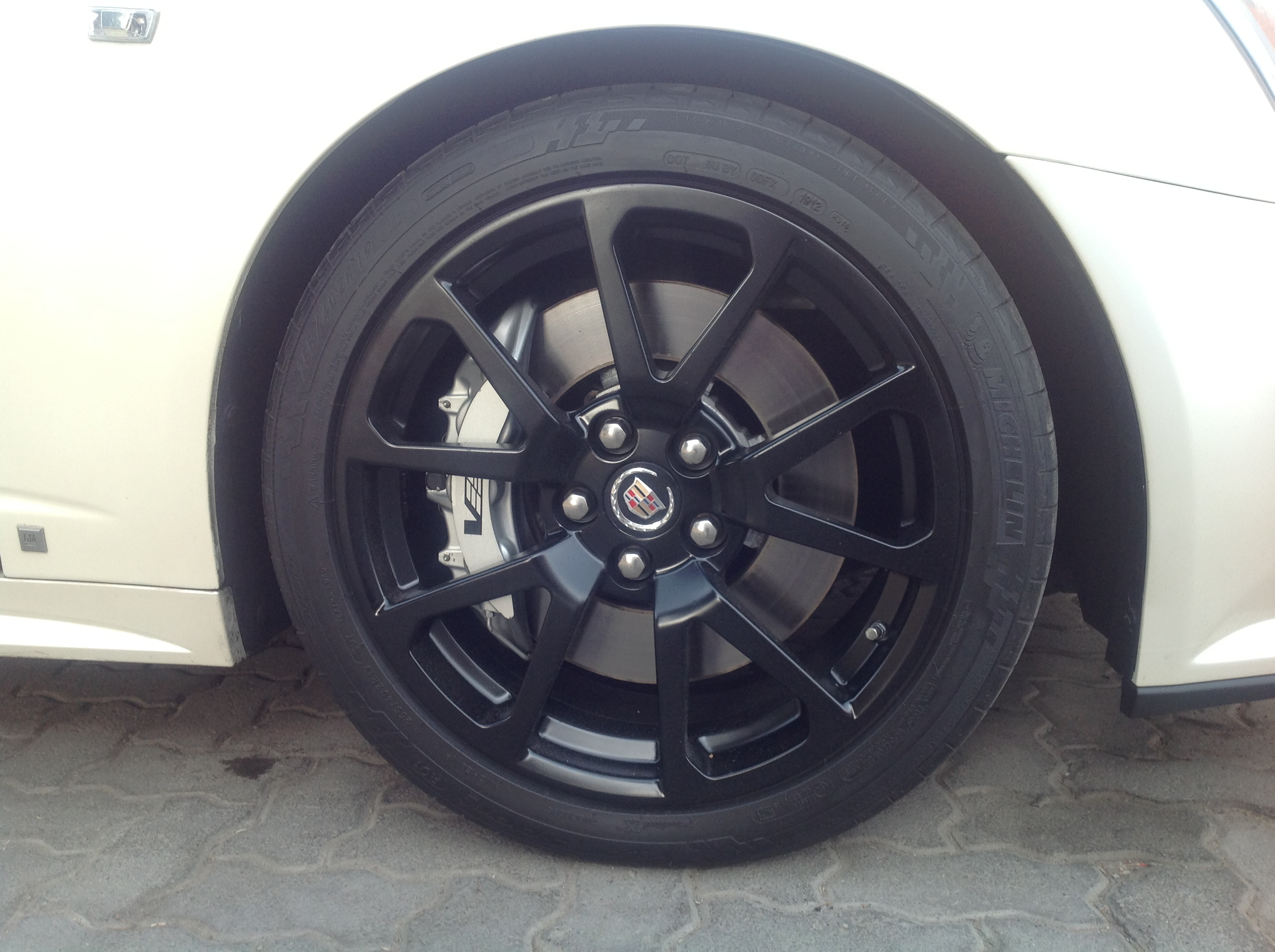 cadillac CTS after